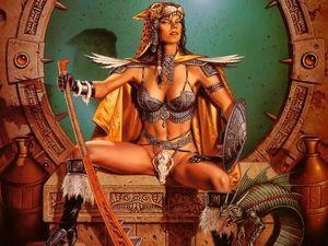 Warrior women fantasy art - Page 2 -..
