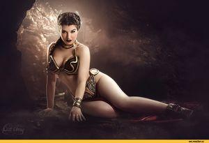 Princess leia slave girl - Babes - Hot..