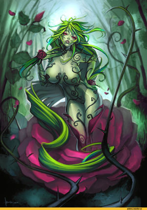 Plant Girl (Anime) :: ecchi :: Monster..
