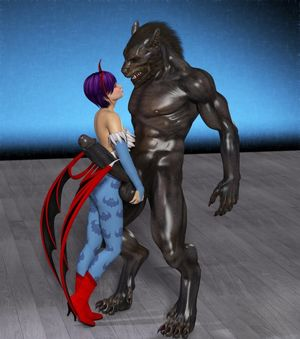 Evil werewolf shows the good kind of..