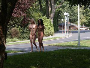 InstantFap - Two naked girls enjoying..