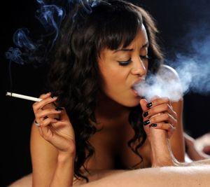 Sexy Lady Smoking Fetish Love Fantasy..