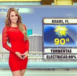 Viral Weather Woman Yanet Garcia -..