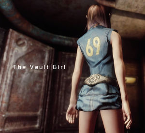The Vault Girl For Type 3 vNV Killing..