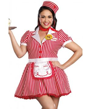 Sexy soda pop girl costume - Other -..