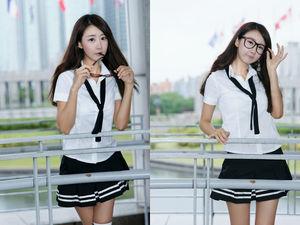 OMG!! School Girl Park Hyun Sun..