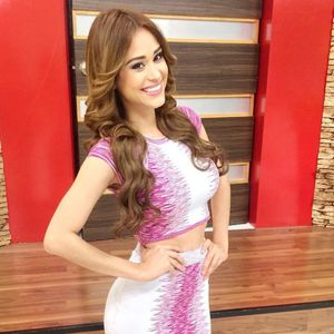 Smoking Hot Mexican TV Weather Woman..