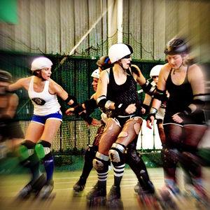 Roller Derby girl - Mindalicious