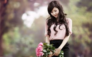 Asian Woman Wallpaper Mobile #SzP -..