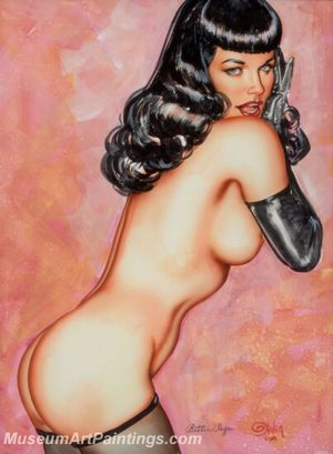 Handmade Beautiful Modern Sexy Pin Up..
