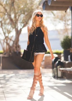 Outfits With Gladiator Heels - Js Heel