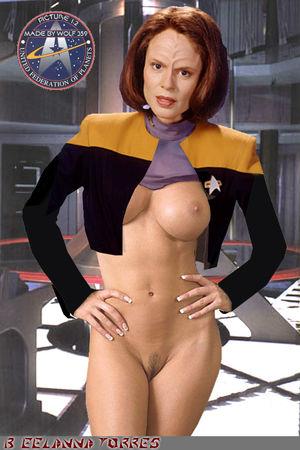 Star trek women nude