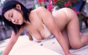 Японская девушка..