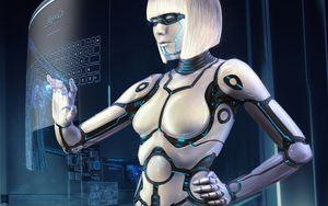 Фотография Робот 3D..