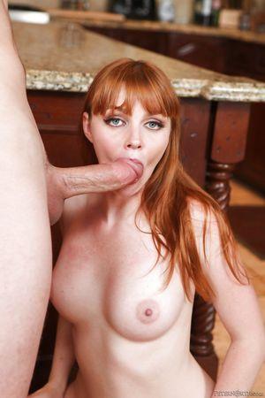 Cute redhead MILF Marie McCray in..