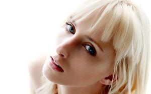 Woman Gril Beauty Face Blonde Colette..