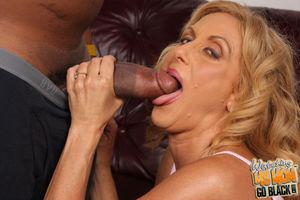 Slutty mom Dana Devine interracial..