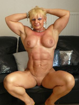Zimbo Muscle Women Rule Maryse Manios..