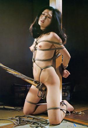 Japanese rope bondage art and examples..