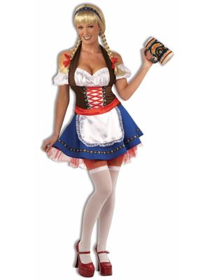 Sexy Oktoberfest Fraulein Costume All..