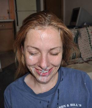 Amateur Girl Cum on Face Big Adult..
