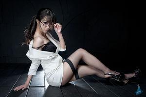 Sexy Long Legged Korean Im Soo Yeon..