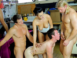 Bisexual orgy with bi men and hot..