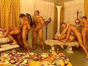 Orgy of studs in Morocco - Watch Porn..
