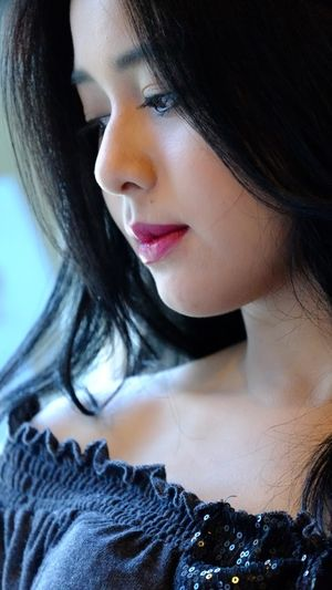 Free photo Beautiful Face Girl Asian..