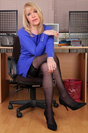 Beautiful mature model Anne Atkinson 7..