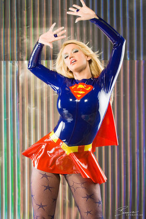 sexy supergirl cosplay girl - Obsolete..