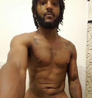 Beautiful men: black men massively..