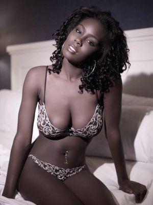 Busty ebony wife