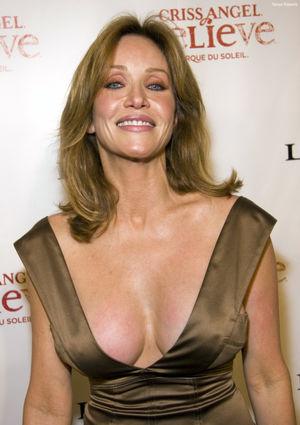 beautiful mature woman 039 s cleavage..