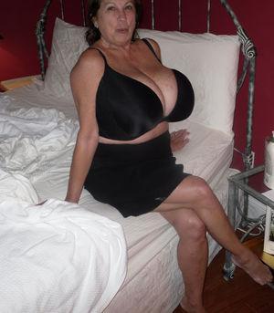 Marti and Her Big Mature Tits: 2019