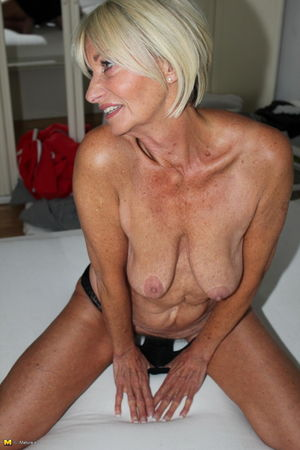 Beautiful 71yo blond granny Franziska..