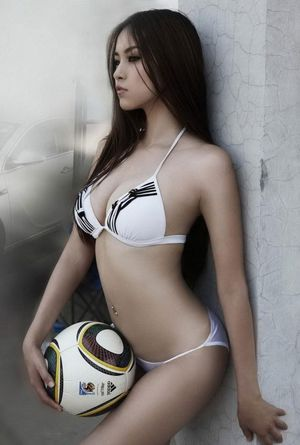 """soccer-sexy-girl-01 """" Asian Players"""