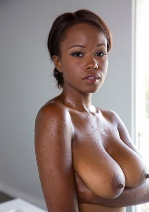 Black Tits - big black beautiful tits