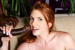 Busty redhead Lilith Lust gets her..