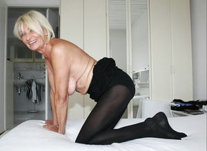 Granny Goes Naked 12 upskirtporn