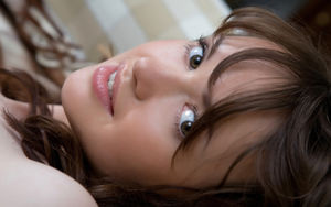 Photos Eyes Brunette girl Face Hair..
