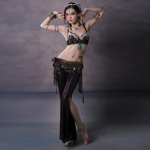 Women Tribal Style Belly Dance Costume..
