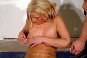 Needle BDSM Of Crystel Lei