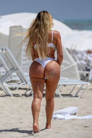 Anastasiya Kvitko Big Booty In White..
