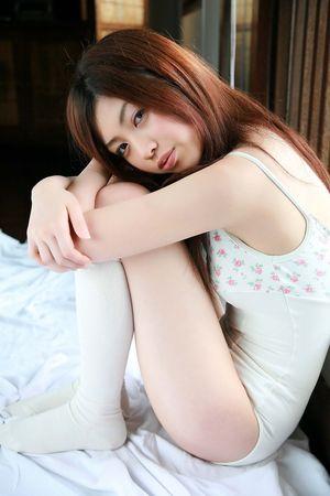 Slim Japanese Girl Azusa Togashi..