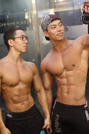 Asian Muscle Hunks Hot Asian Guys