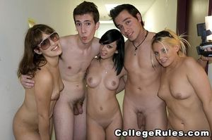 College Girls Streaking Naked -..