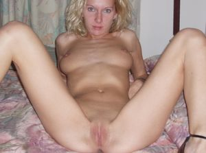 slender and naked blonde in bed 2 -..