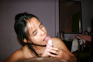 GiGi Gives blow jobs in Employers Home..