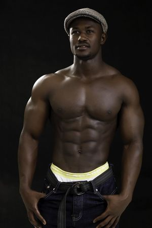 Hot black body builders vids -..